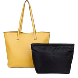 The Lucia Tote - Nutty Mustard - Ampere Creations
