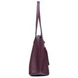 The Lucia Tote - Wine - Ampere Creations