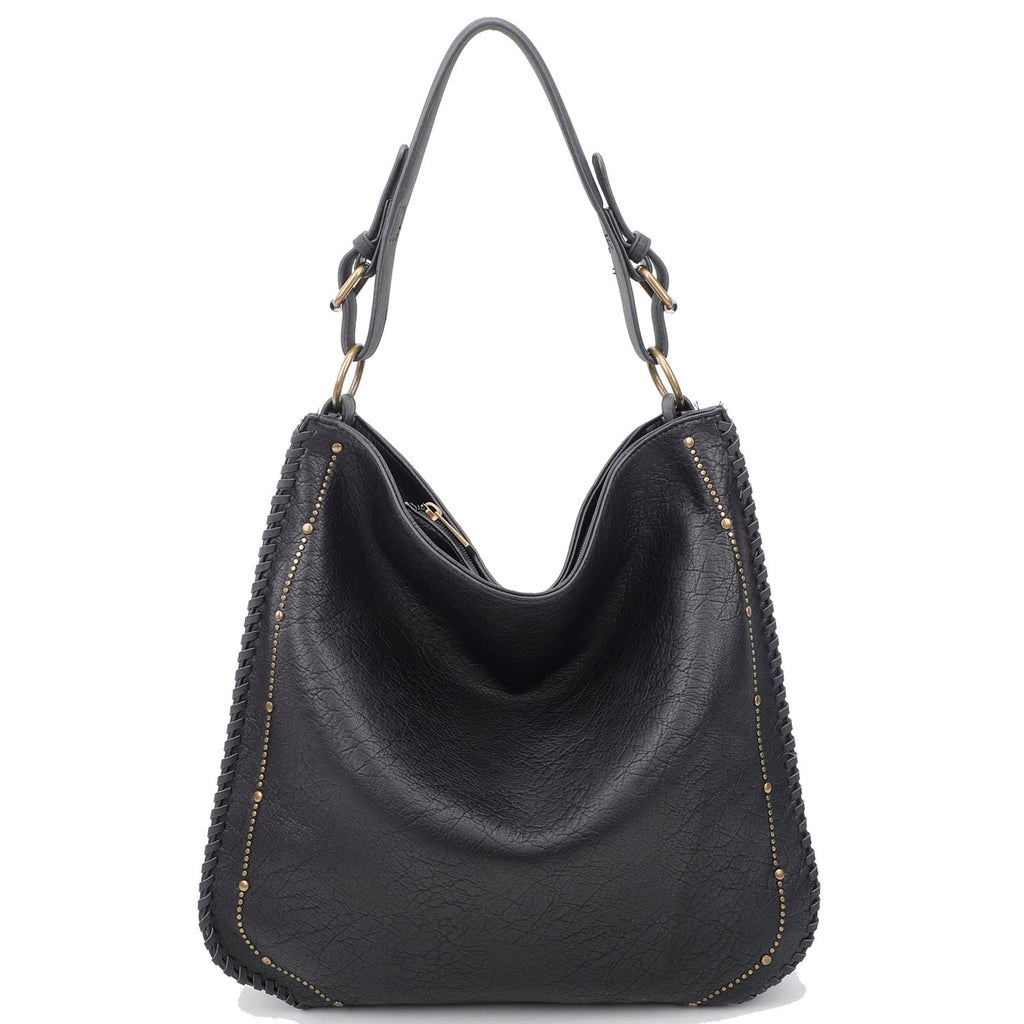 Virginia Tote - Black - Ampere Creations