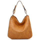 Virginia Tote - Light Brown - Ampere Creations