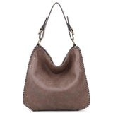 Virginia Tote - Taupe - Ampere Creations