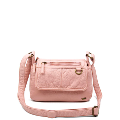 The Willma Crossbody - Petal Pink - Ampere Creations