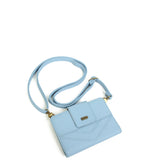 The Sophia Wallet Crossbody - Baby Blue - Ampere Creations