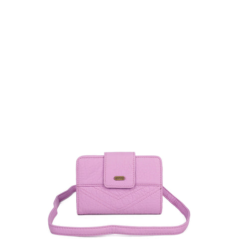 The Sophia Wallet Crossbody - Light Purple - Ampere Creations
