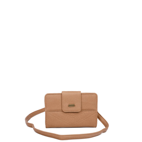 The Sophia Wallet Crossbody - Sand - Ampere Creations