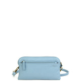 The Samantha Wallet Crossbody - Baby Blue - Ampere Creations