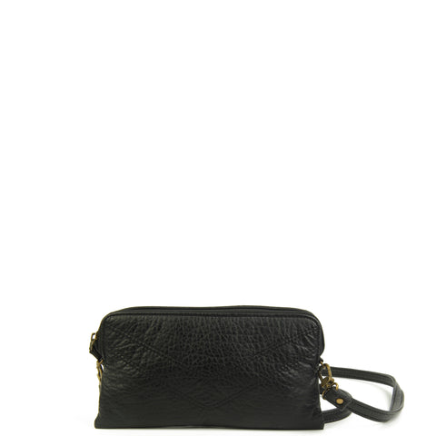 The Samantha Wallet Crossbody - Black - Ampere Creations