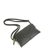 The Samantha Wallet Crossbody - Brown - Ampere Creations