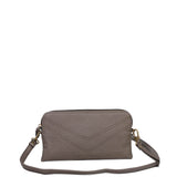 The Samantha Wallet Crossbody - Dark Grey - Ampere Creations