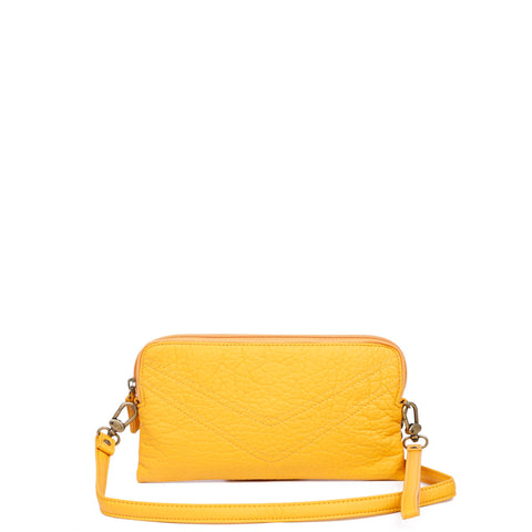 The Samantha Wallet Crossbody - Honey Mustard - Ampere Creations