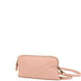 The Samantha Wallet Crossbody - Petal Pink - Ampere Creations