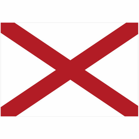 Alabama State Flag for Putt-A-Round - Flag Only