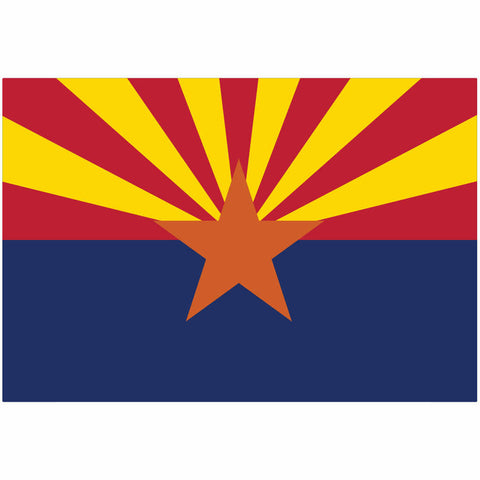 Arizona State Flag for Putt-A-Round - Flag Only