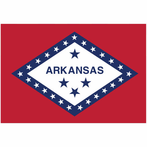 Arkansas State Flag for Putt-A-Round - Flag Only