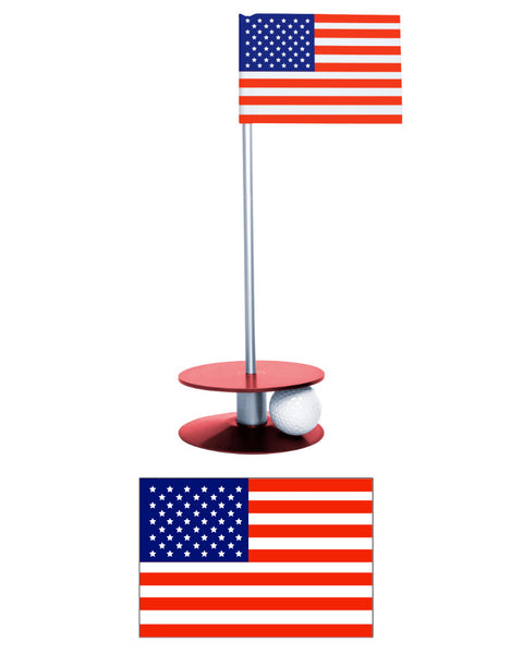 Putt-A-Round American Flag Collection - A great gift for those who love golf and the USA