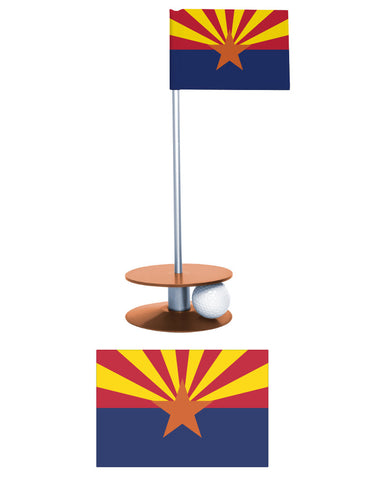 The Arizona State Flag Putt-A-Round. Help the Arizonan in your life improve their putting game.
