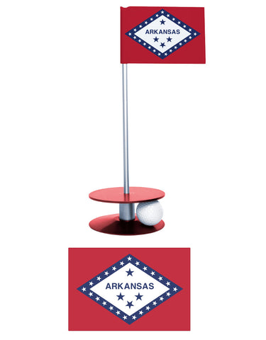 The Arkansas State Flag Putt-A-Round. A great gift for the Arkansan golfer!
