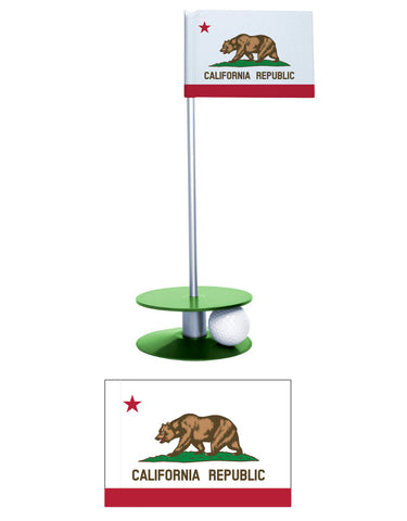 The California State Flag Putt-A-Round is for the Californian that wants to improve their putting game.