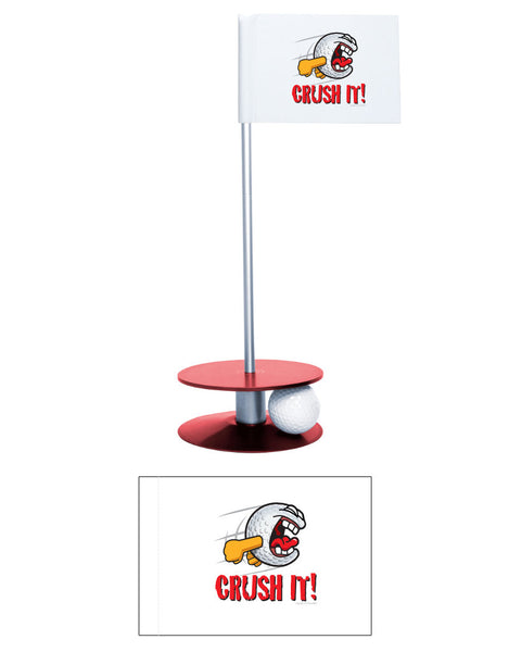 Putt-A-Round Gus the Golfball Crush It Collection - Awesome golf gift to remind your golfer to Crush It
