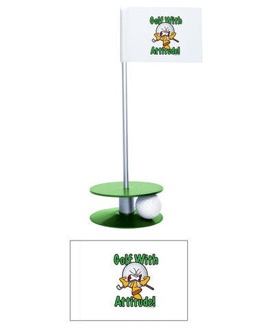 Putt-A-Round Gus the Golf Ball Gets Attitude Collection - For the golfer with a little attitude
