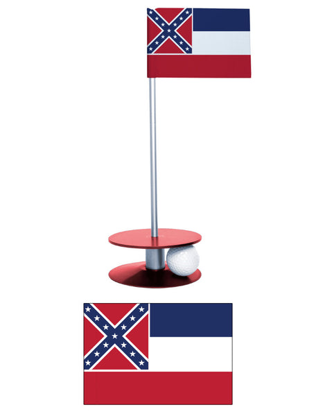 Mississippi State Putt-A-Round putting aid. Improve your golf score while having fun. Makes an excellent gift.