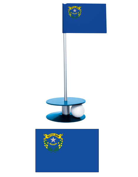 Nevada State Putt-A-Round putting aid. The perfect gift. A fun way to improve your golf game.