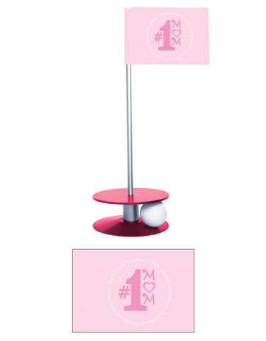 Putt-A-Round #1 Mom Flag Collection - A great golf gift for mom