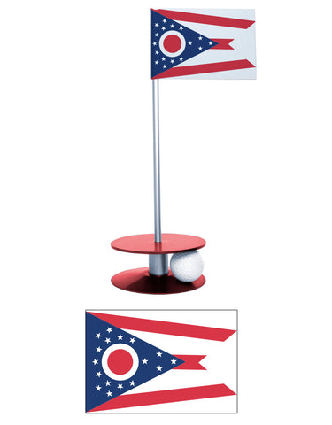 Ohio State Flag Putt-A-Round putting aid. A great gift for the golfer in your life.