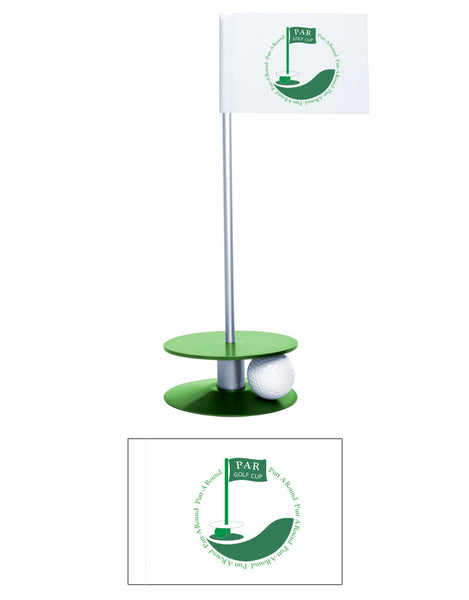 Putt-A-Round PAR Logo Putting Aid Collection - Great for practicing your putting skills