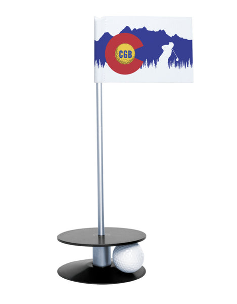 Colorado Golf Blog Putt-A-Round Putting Aid with Black Base
