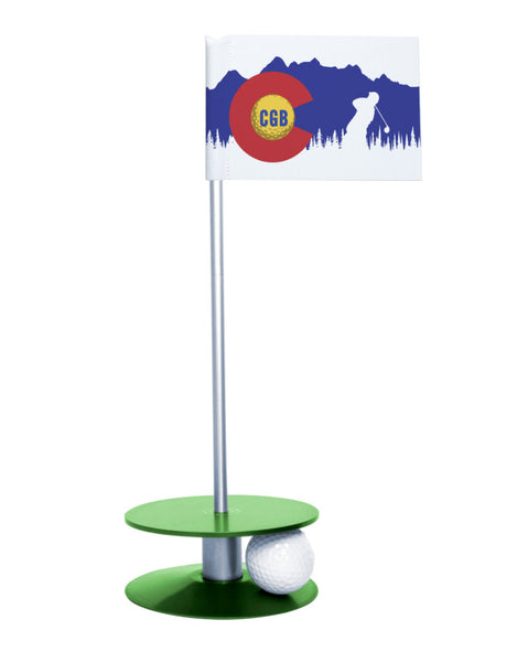 Colorado Golf Blog Putt-A-Round Putting Aid with Green Base