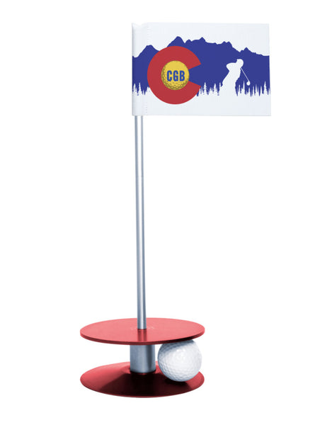 Colorado Golf Blog Putt-A-Round Putting Aid with Red Base