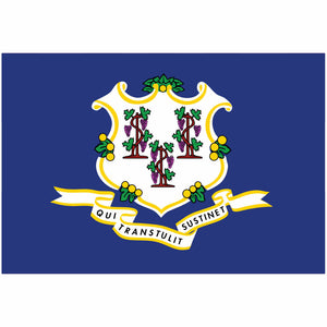 Connecticut State Flag for Putt-A-Round - Flag Only