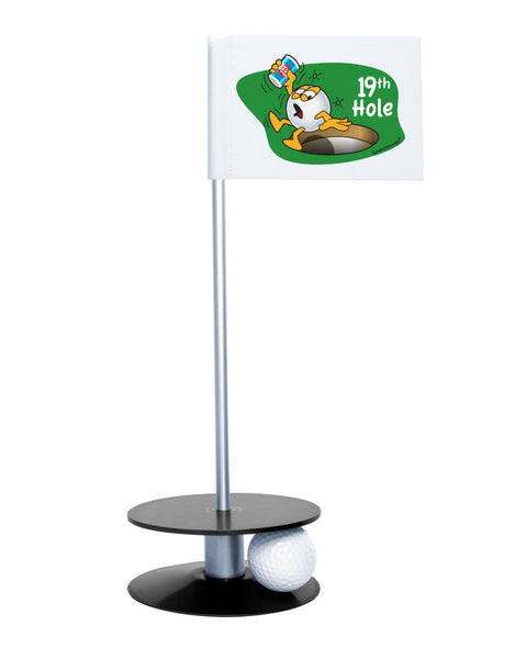 Putt-A-Round Gus The Golfball 19th Hole with Black Base - A great gift for the golfer in your life