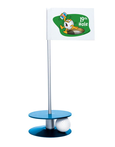 Putt-A-Round Gus The Golfball 19th Hole with Blue Base - A great gift for the golfer in your life