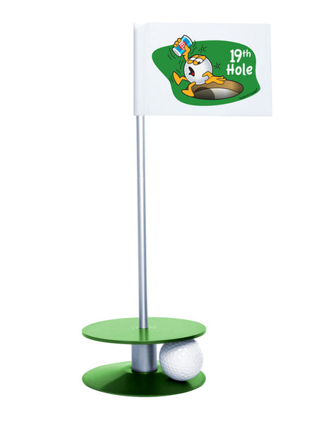 Putt-A-Round Gus The Golfball 19th Hole with Green Base - A great gift for the golfer in your life