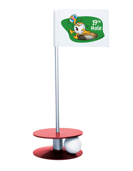Putt-A-Round Gus The Golfball 19th Hole with Red Base - A great gift for the golfer in your life