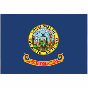 Idaho State Flag for Putt-A-Round - Flag Only