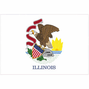 Illinois State Flag for Putt-A-Round - Flag Only