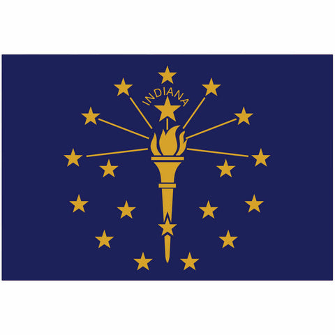 Indiana State Flag for Putt-A-Round - Flag Only