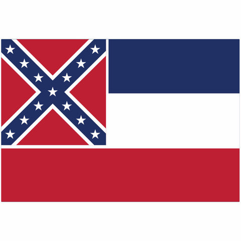MIssissippi State Flag for Putt-A-Round - Flag Only