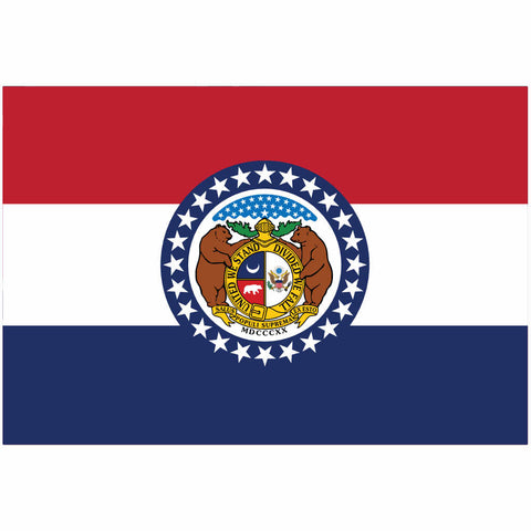 MIssouri State Flag for Putt-A-Round - Flag Only
