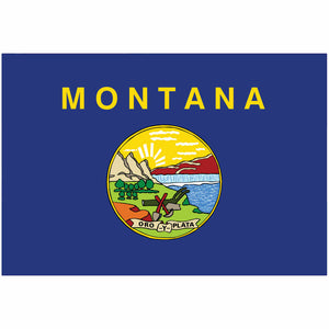 Montana State Flag for Putt-A-Round - Flag Only