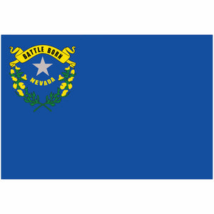 Nevada State Flag for Putt-A-Round - Flag Only