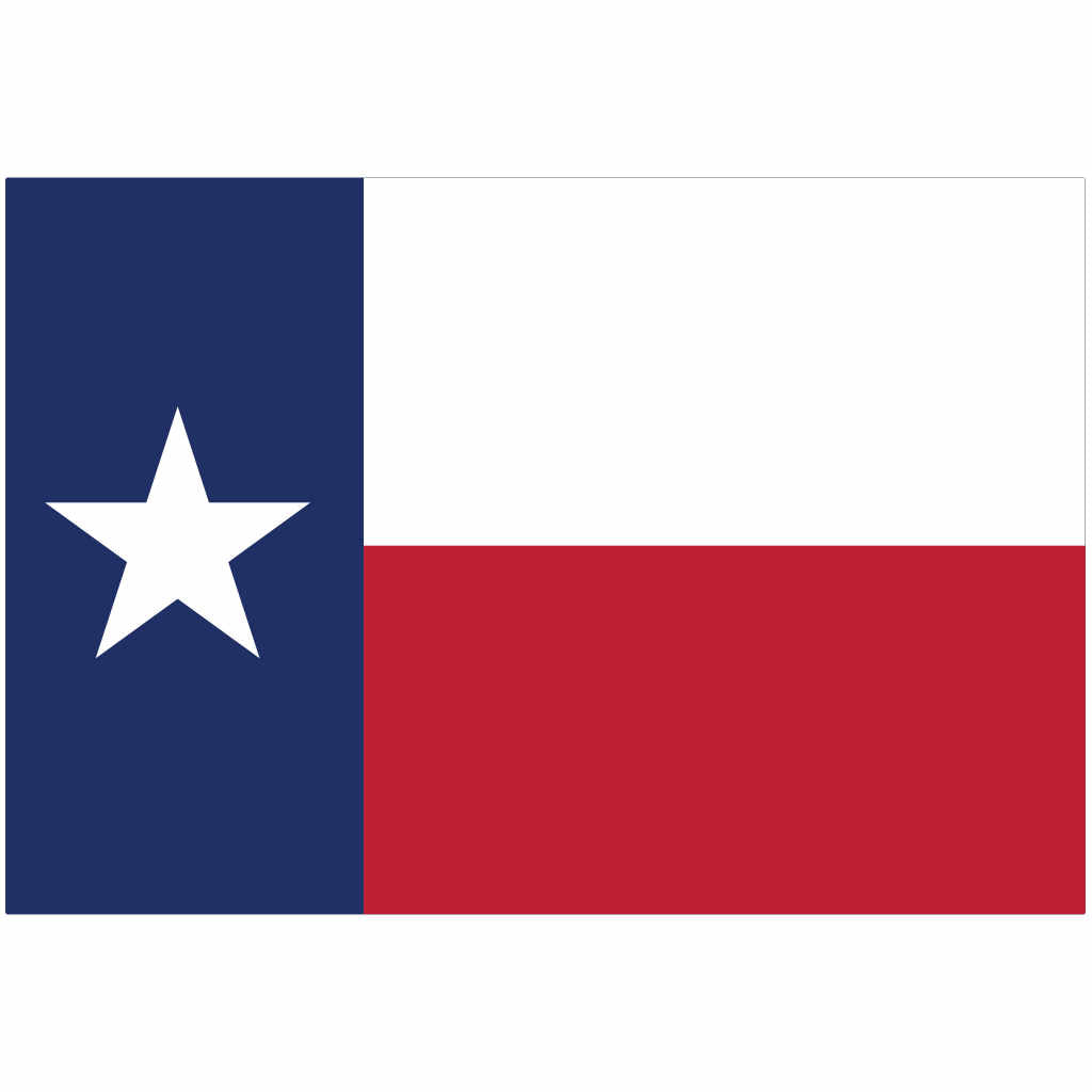 Texas State Flag for Putt-A-Round - Flag Only