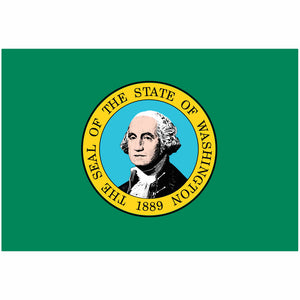 Washington State Flag for Putt-A-Round - Flag Only