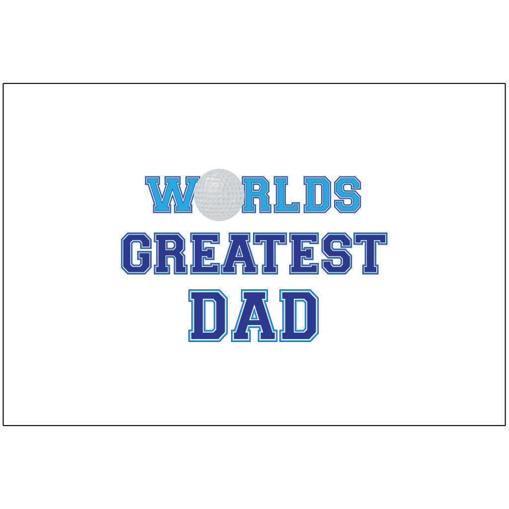 Worlds Greatest Dad - Flag Only