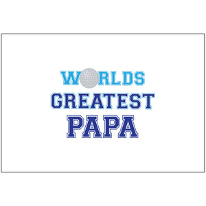 Worlds Greatest Papa - Flag Only