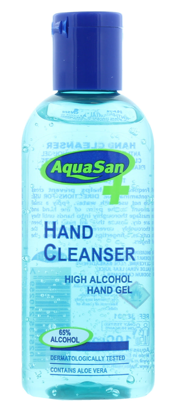 12 x 100ml MALIBU AQUASAN HAND SANITISER