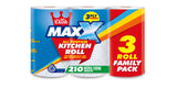 60 Lemon Cusheen Toilet Roll + 12 MAXX Kitchen Roll
